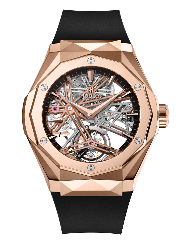 Часы Tourbillon Power Reserve 5 Days Orlinski King Gold