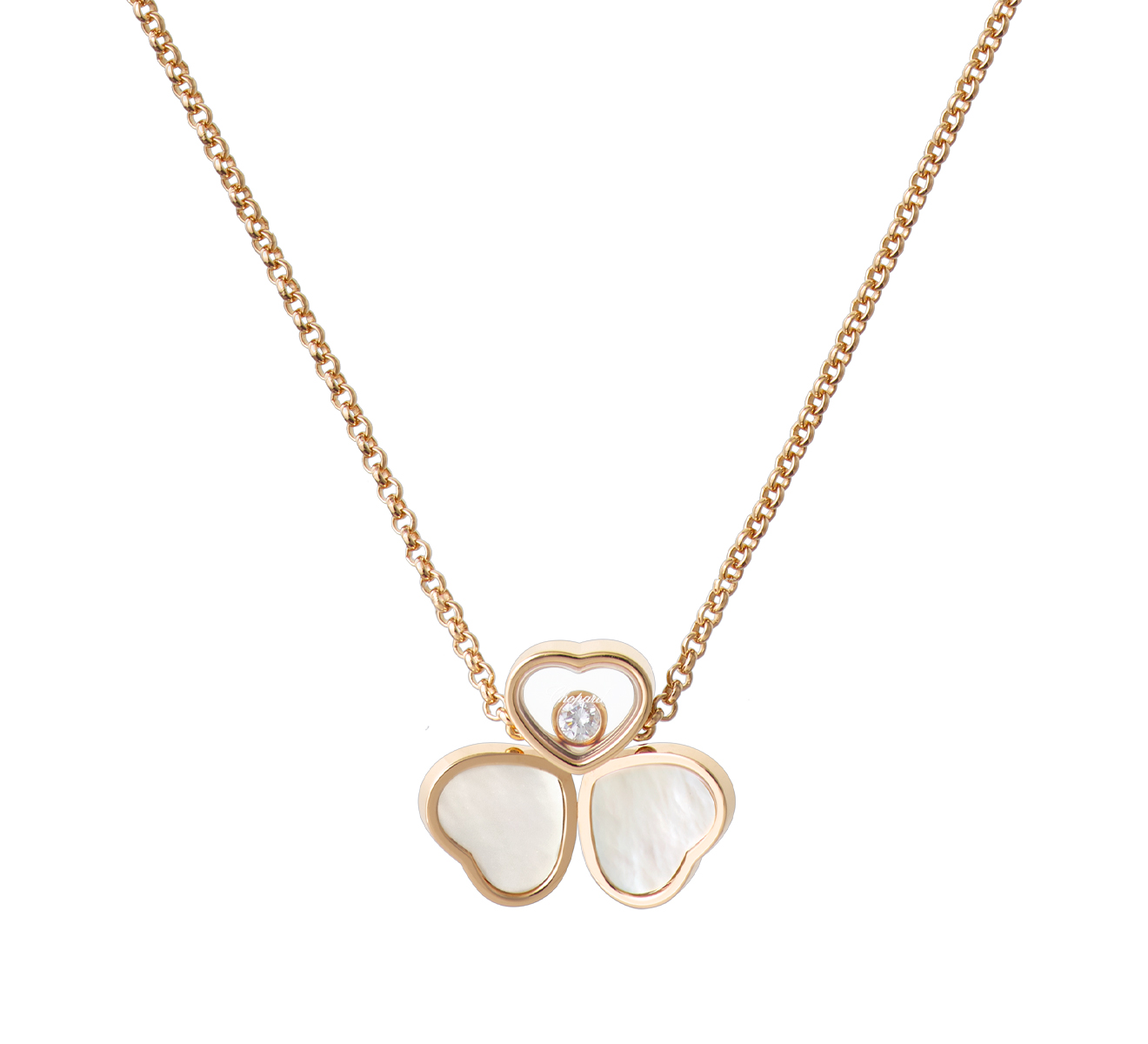 Кулон Happy Hearts Chopard Happy Diamonds 81A083-5311 - фото 1 – Mercury