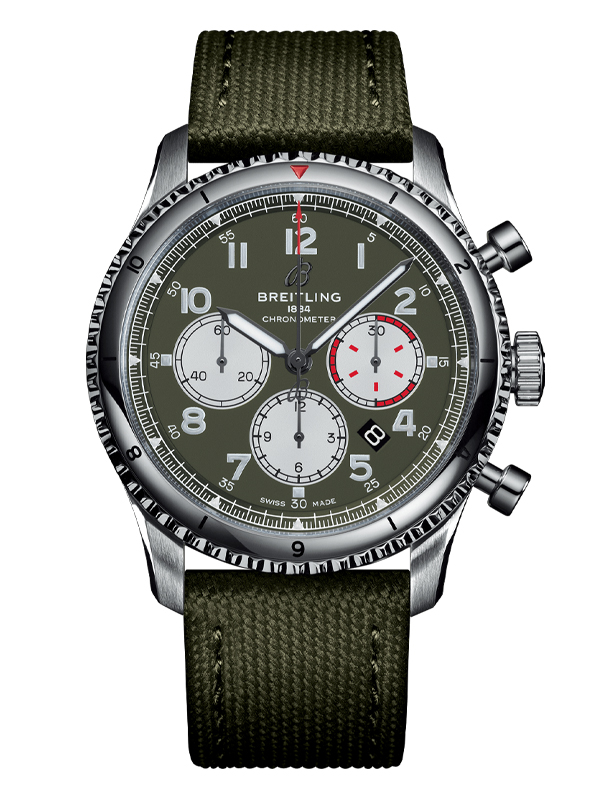 Часы Aviator 8 B01 Chronograph 43 Curtiss Warhawk
