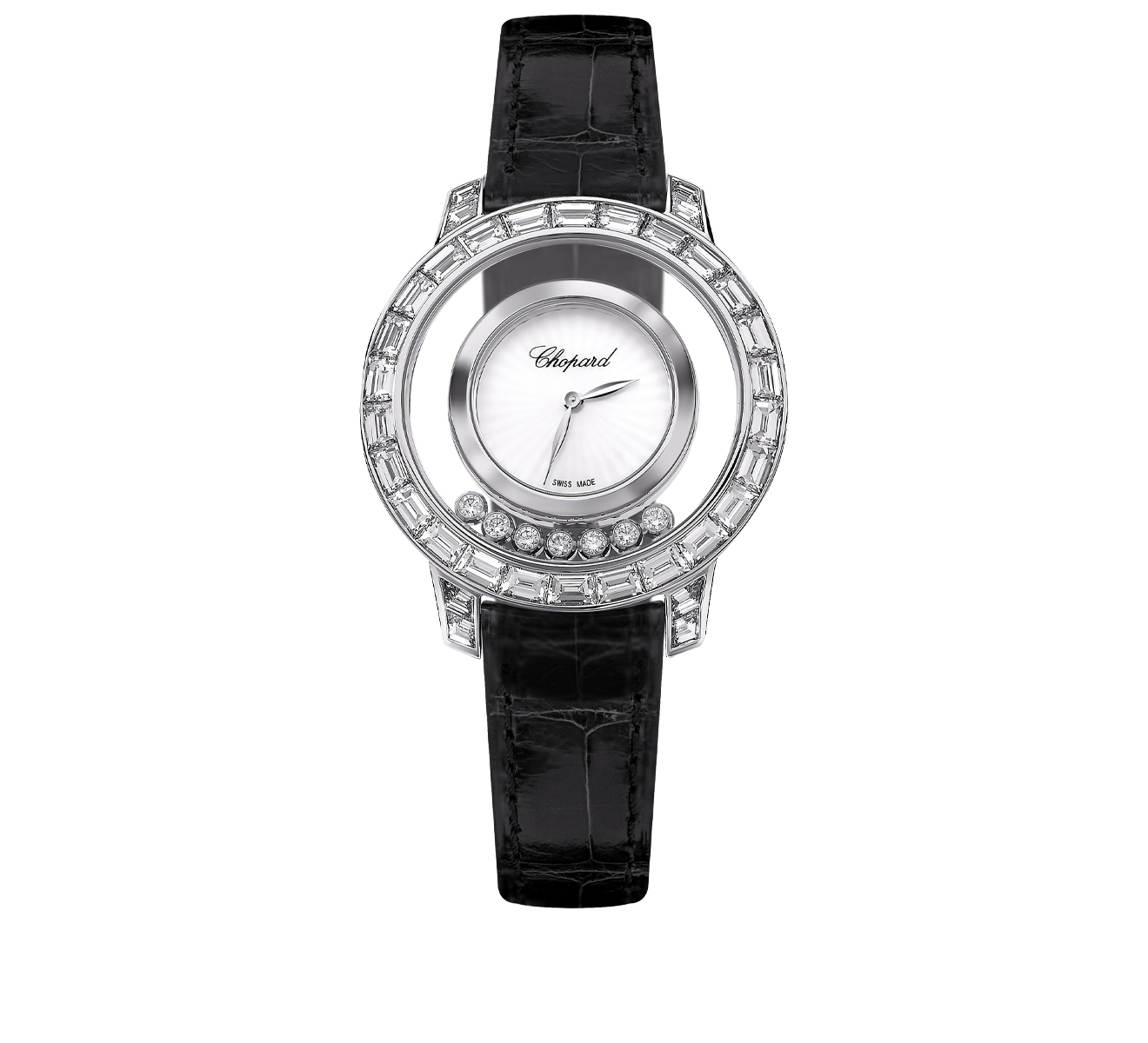 Часы Joaillerie Chopard Happy Diamonds 20A002-1001 - фото 1 – Mercury