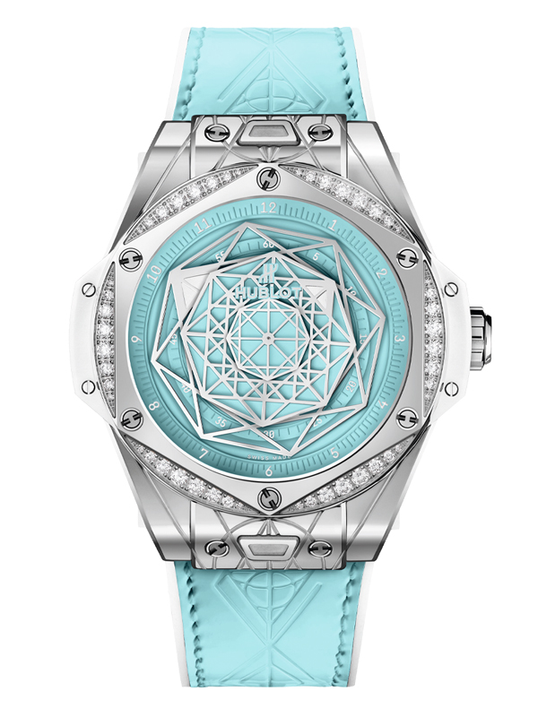 Часы One Click Sang Bleu Steel Turquoise Special Edition