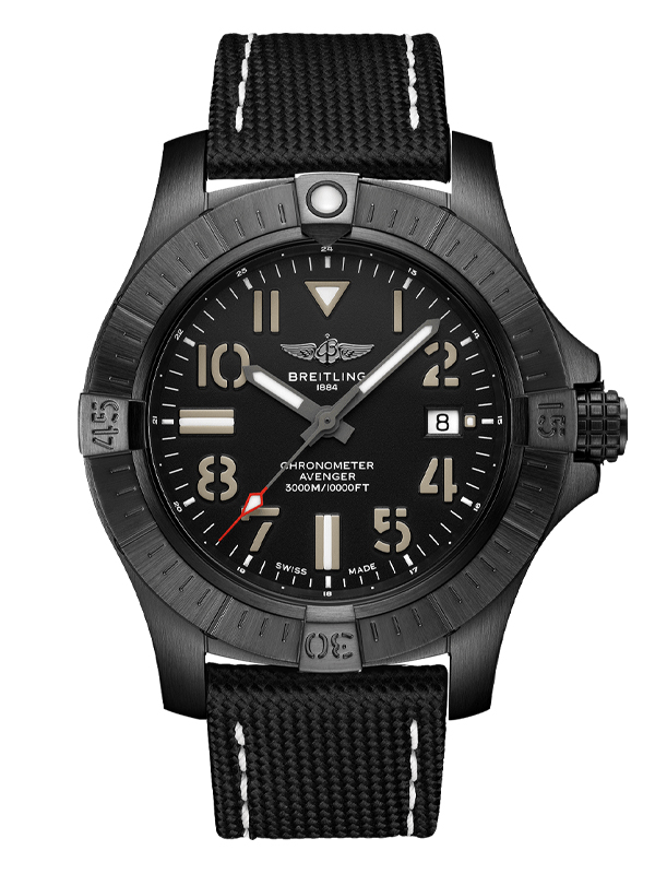 Часы Avenger Automatic 45 Seawolf Night Mission