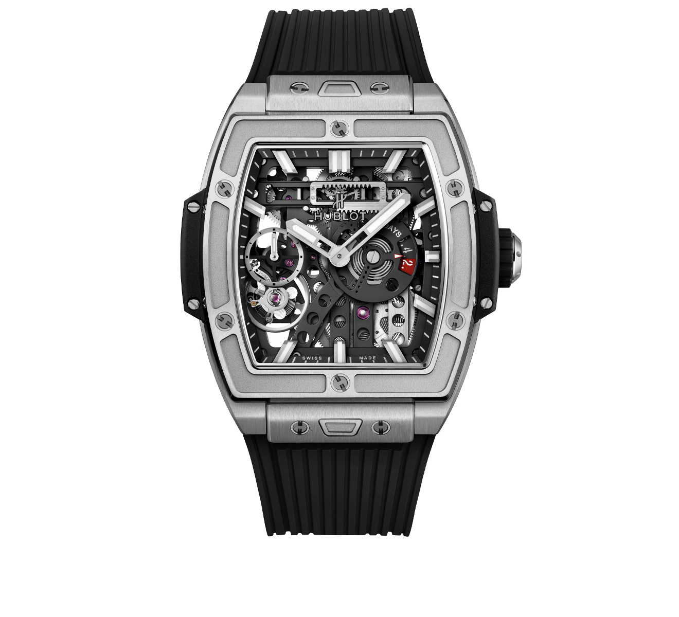 Часы MECA-10 Titanium HUBLOT Spirit of Big Bang 614.NX.1170.RX - фото 1 – Mercury