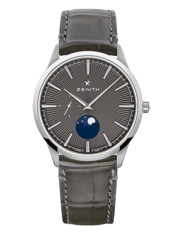 Часы Elite Moonphase Grey
